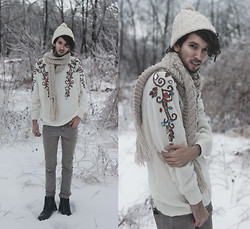 Bobby Raffin - Gypsy Sale Gemstone Sweater - Icicles