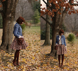 The Clothes Horse R - J. Crew Cuts Jacket, Asos Sweater, Modcloth Dress, Asian Icandy Tights, Seychelles Oxfords - Never Swap A Horse Crossing A Stream
