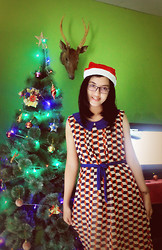 Aprilia Yosephine Tohana - Pretty Rown Illusion Dress - This is the most Beautiful Christmas
