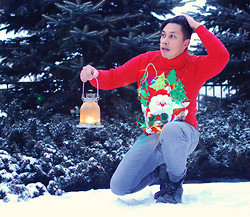 ALLEN M - Diy Ugly Christmas Sweater - CHRISTMAS SWEATER // ALLENation