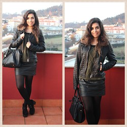 Marisa Silva - Lefties Skirt, Bershka Jacket - Weeks go by like days