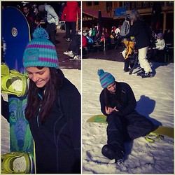 Sofia Kalanovska -  - The perfect sunny day for snowboarding <3