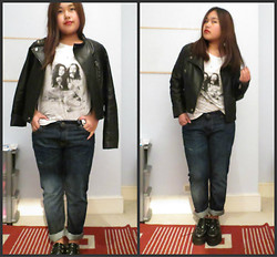 Sanj Gurung - Topshop Jacket, H&M Top, Next Jeans, Underground Shoes - Wendy Let Me In