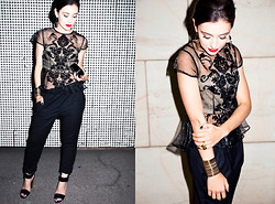 Marta Pozzan - Steve Madden Sandals, Pinko Pants, Jewelmint Earrings - Welcome 2014
