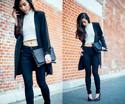 Jenny Ong - Nasty Gal Cropped Knit - Happy New Year!