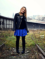 Jana Jelena Tijana - Stradivarius Jacket, Zara Sweater, Stradivarius Skirt - I want you to know,you're special