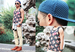 Miko Carreon - That's Phresh Tank Top, Box Fresh Boots - New year New bloom