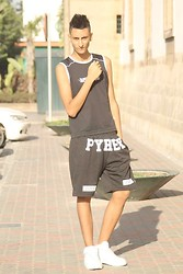 Anass Louasfi - Selected Homme, Choies Pyrex Short, Nike Af1 - WE MISS YOU SUMMER !