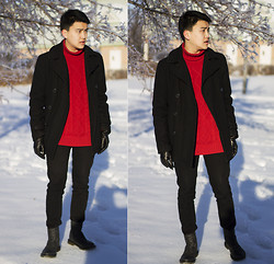 Martin Yu - H&M Sweater, Urban Outfitters Pants - New Start