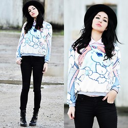 Killy Nicole - Choies Jumper - UNICORN