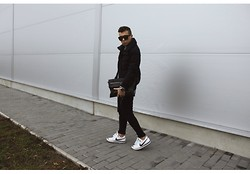 Kamil Gulai - Zara Jacket, Balenciaga Clutch - 4/1/14 , more pics in description