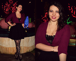 GlamourGirl GG - H&M Blouse - My New Year's Eve Party Look