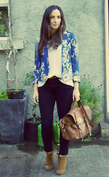 Emma Whyte - Zara Blazer, All Saints T Shirt, Aldo Belt, Rag & Bone Jeans, Mulberry Bag, Miss Kg Boots - NO PLACE LIKE HOME