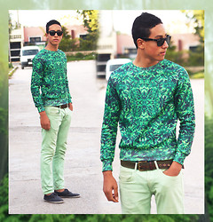 Abdrahim Msiah - Ray Ban Glasses, Choies Sweater, Zara Jeans, Clarks Shoes - OUT OF CONTROL