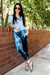Lucia Mouet - Urban Outfitters Pants, Zara Shoes, Lumo Jewelry - BLUE VELVET