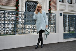 Manuella Lupascu - Sheinside Bag, Mart Of China Over The Knee - Pastels in the Winter