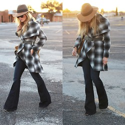 Devon D - Asos Coat, Anthropologie Hat, J Brand Jeans - A Chic Coat
