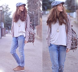 Elif & the RoseMania www.therosemania.com - H&M Hat, Levi's® Denim, Reebok Sneaker - Today is Mens style