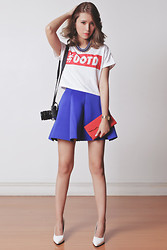 Tricia Gosingtian - Minga Top, Choies Skirt, Mumi Bag Clutch, Kristin Perry Necklace - 010914
