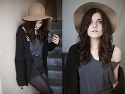 Sabina Olson - H&M Hat, Sheinside Cardigan - Over my dead body #127