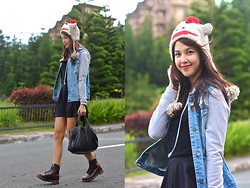 Patricia Prieto - Forever 21 Jacket, Alexander Wang Bag, Dr. Martens Boots - Baby It's Cold Outside