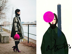 Nancy Zhang - Comme Des Garçons Coat - Style tells who we are.