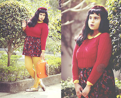 Ragini R - Oasap Orange Bag - And I Won't Forget To Put Roses On Your Grave