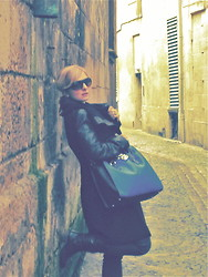 Dusana B - Next Coat, Michael Kors Bag, Ray Ban Sunglasses - A New Year is the perfect time to change your look