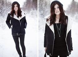 Sabina Olson - Sheinside Winter Coat, Ur&Penn Necklace - Over my dead body #128