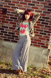 Jessie Duker - Pacsun Tee, Thrift, Charming Charlies 1970's - Bad A$$