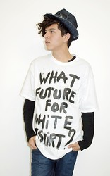 Edrei Mil - Naco Paris Tee Shirt. - What future for White T-Shirt?