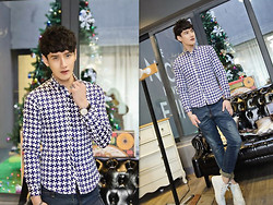 Charles Grey - Wholesale7 Fashion Shirt - Fashion shirt