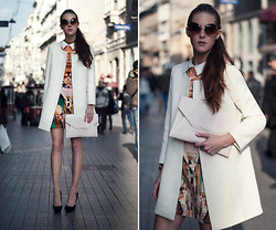 Katerina Kraynova - Givenchy Bag, Sheinside Dress, Wowvintagw Sunglasses - Minimalist With Accents