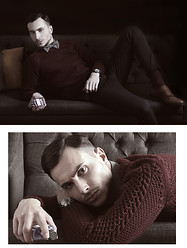 Vladan Gavric - Givenchy Parfume, Dapper Time Watch, Choies Shirt And Sweater - GENTLEMEN ONLY