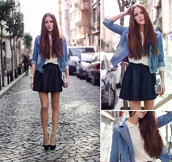 Katerina Kraynova - Wholesale7 Jacket, Sheinside Skirt, Mango Heela - Casual Monday
