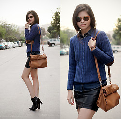 Adriana Gastélum - Windsor Sunnies, Daniel Wellington Watch, Coach Booties - Out of the zone