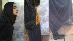 Amanda Parriott - Xhilaration Faux Leather Jacket, Mossimo Blouse, Forever 21 Maxi Skirt, Antia Booties - I'm Just A Crazy Little Lady