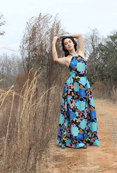 Piper Arielle - Vintage Halter Dress - Welcome to the 60's