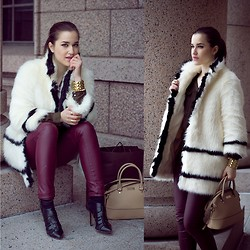 Heidi Caterina - H&M Coat, H&M Pants, Zara Heels, Mango Bag, Mango Bralecet - THIS IS ME