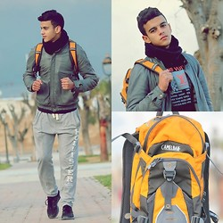 Aymané Ribag - Camelbak, H&M, Up 5, Bulle&Ber, H&M - This is the first month of sports :))