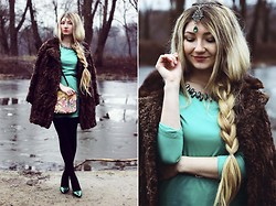 ♡Anita Kurkach♡ - Persun Dress, Romwe Jewelry, Ecugo Bag, Asos Shoes - Smile , sweet winter!