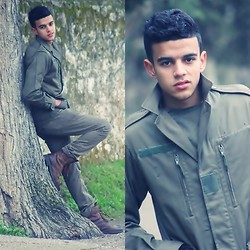 Aymané Ribag - Military, Zara, Gollway - The different Military look.