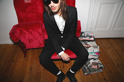 Dustin H. - Topman Suit, Prada Shirt, Dr. Martens Shoes - P(RAD)A