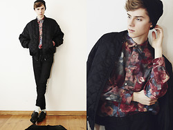 Mikko Puttonen - Jacket, Shirt, Zara Trousers, Skopunkten Shoes - Break it up