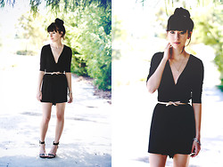 MaryAlice G - Asos Romper, Nasty Gal Shoes, Jewelry - Riptide