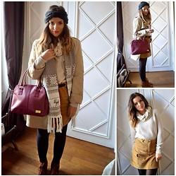 Laetitia - Daniel Hechter Bag, Manoukian Trench Coat, H&M Sweater - Winter