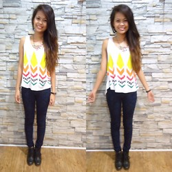 Diana Del Fuerte Marcos - Penshoppe Floral Skinny Jeans, Forever 21 Ankle Boots - What's More Beautiful Than Life Itself?