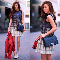 Jenny Tsang - Tibi Dress - Lace Plaid