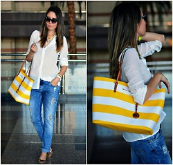 Paris Sue - Romwe Shirt, Michael Kors Bag - Casual Chic