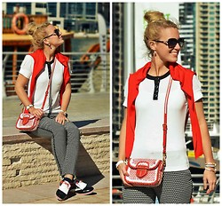 Maren Anita - Mango Pants, Prada Bag, Windsor Sweater, Bvlgari - Dubai Marina